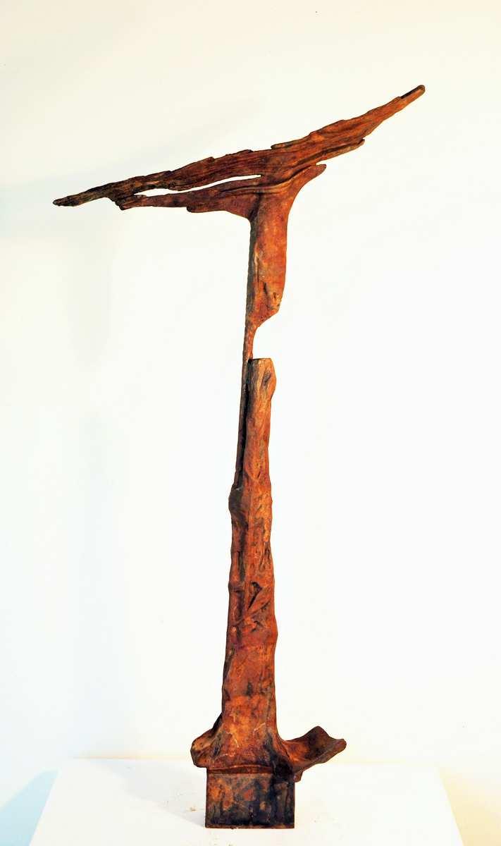 Metamorfosis V, Bronce, 43x6x21cm.