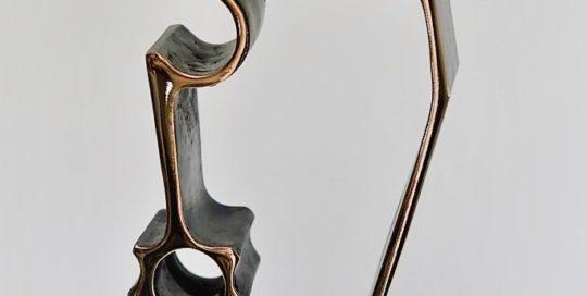 Tiempos modernos. Bronce. 35x15x6 cm