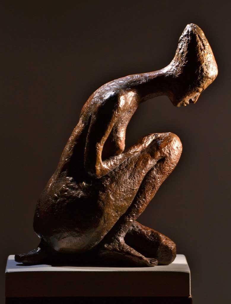Meditación II-bronce-27x10x23