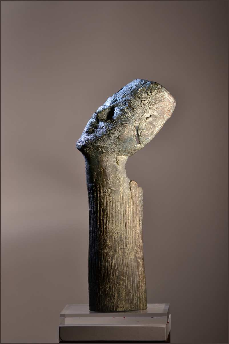 Momificada, Bronce, 43x11x20cm.