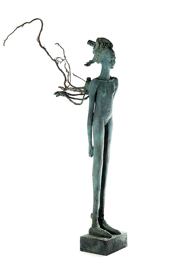 Mutante III. (2014). Bronce (78x22x37 cm) 1 de 1