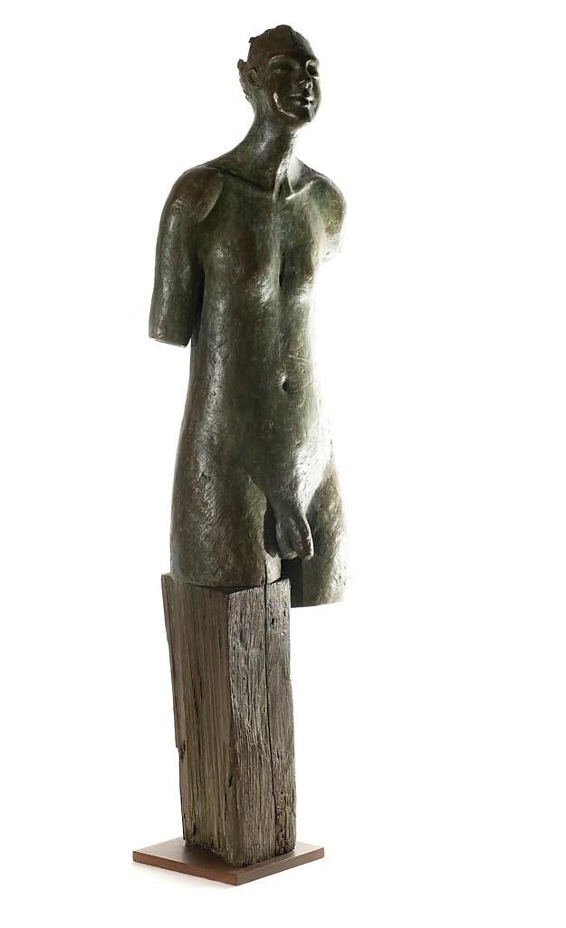 Torso masculino abierto (62x16x12 cm)